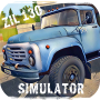 icon Russian Car Driver ZIL 130