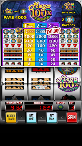 MEGA 100x Slots