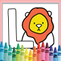 icon Coloring Animals Alphabet
