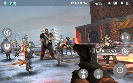 ZOMBIE Beyond Terror: FPS Shooting Game