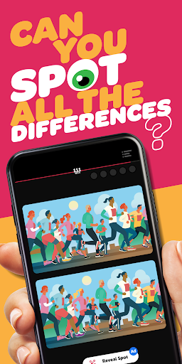 Infinite Differences - Find the Difference Game!