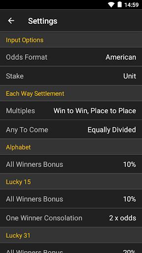 Sports Bet Calculator