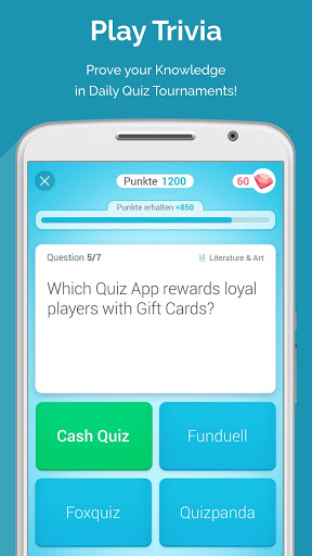 CASH QUIZ - Gift Cards Rewards & Sweepstakes Money (MOD) for
