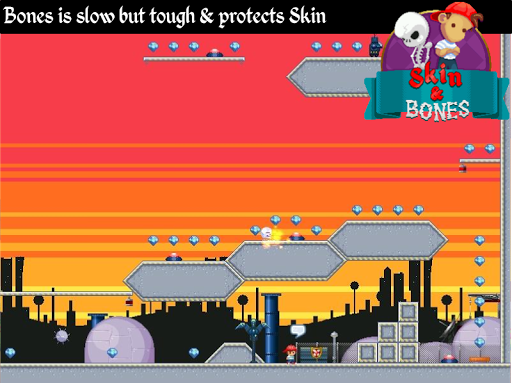 Skin and Bones - platform game