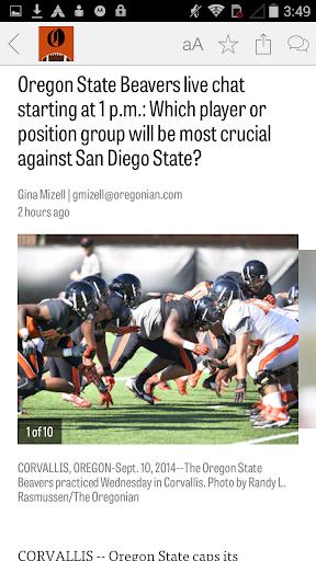 OregonLive: OSU Football News