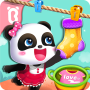 icon Baby Panda Gets Organized