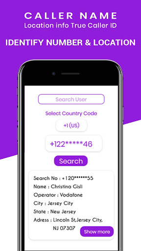 Caller Name, Location info & True Caller ID