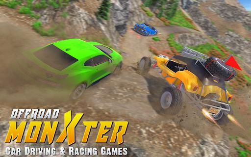 Offroad Monxter Car Driving & Racing Games 2021