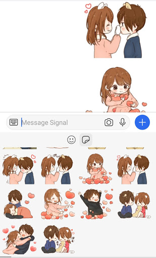 Signal Stickers & Animated