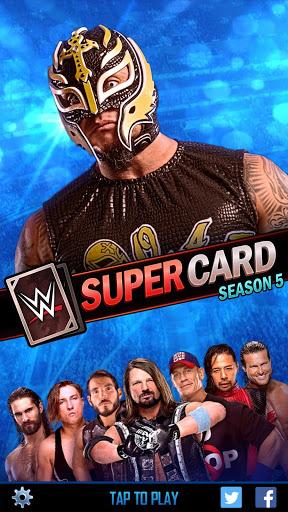 wwe supercard mod apk download