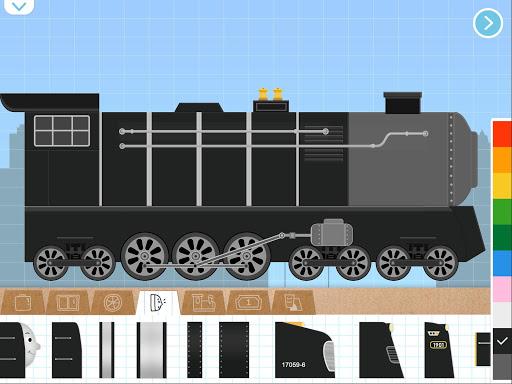 Labo Brick Train Build Game For Kids & Toodlers