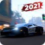 icon Police Car Racing 2021