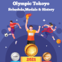 icon Olympic Tokyo 2021Schedule,Sports,Medals and History