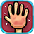 icon Red Hands2 Player Games 2.5