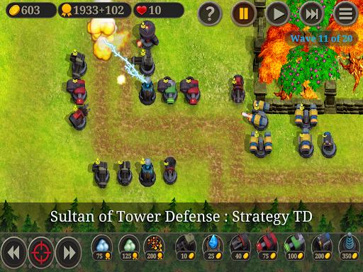 TD Sultan Of Tower Defense