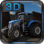 icon Farm Tractor Driver 3D Parking