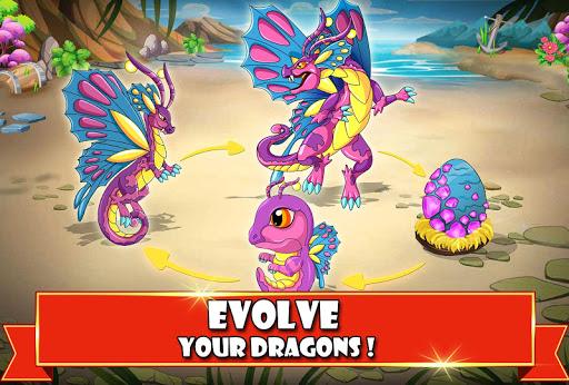 dragon battle mod apk version 9.35
