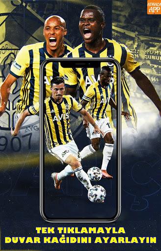 Sarı Duvar Fenerbahçe Duvar Kağıtları