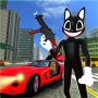 icon Scary Cartoon Cat Horror Game : Gangster Cat Mod