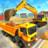 icon Heavy Excavator Crane 2.7