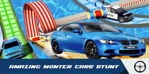 Car Stunts Racing 3D - Extreme GT Racing City