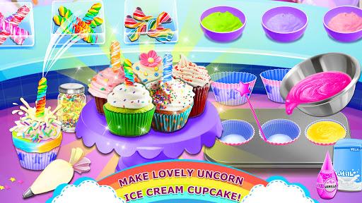 Rainbow Ice Cream - Unicorn Party Food Maker