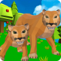 icon Cougar Simulator: Big Cat Family Game