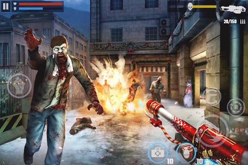 dead target offline zombie shooting games mod apk