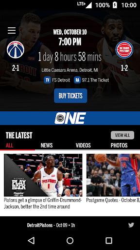 Detroit Pistons Official App