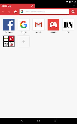 Opera Mini browser beta