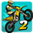 icon Mad Skills Motocross 2 1.0.2