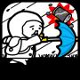icon 台風コロッケ J( 'ー`)し「配達おねがいね」