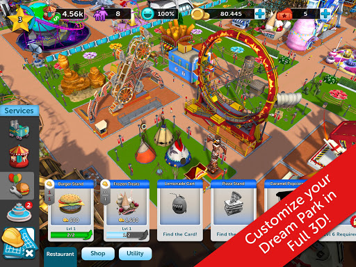 RollerCoaster Tycoon Touch (MOD) for Lenovo Tab3 7