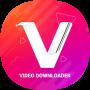 icon com.vmatevideodownloader.allsocialmediavideos.hdvideodownloader.videostatus