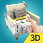 icon Color World 3D-Paint By Number