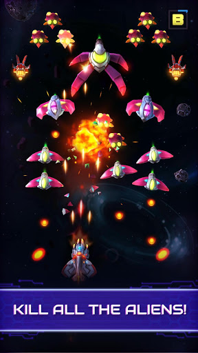 Neonverse Invaders Shoot 'Em Up: Galaxy Shooter