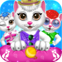 icon Cute Kitty Pet Care Activities