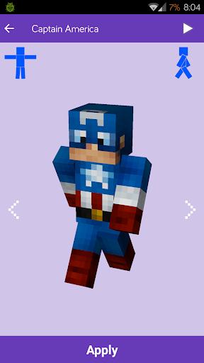 Skins for Minecraft: MineSkins