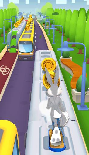 Subway Looney Run - 3D Adventure City Bunny dash