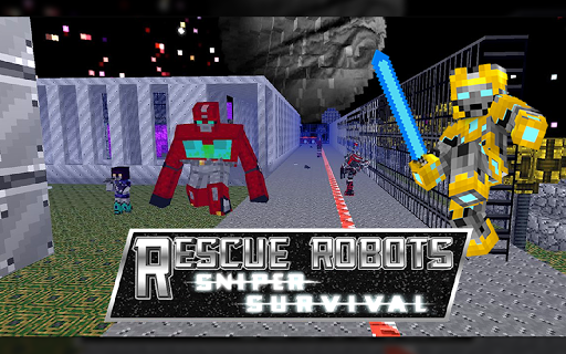 Rescue Robots Survival Games