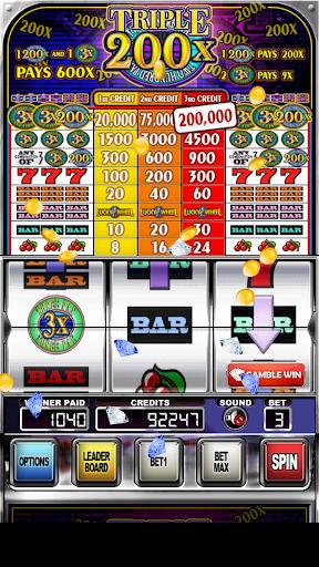 Triple 200x Pay Slot Machines
