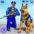 icon US Police Dog Bank Robbery Crime Chase 2.4