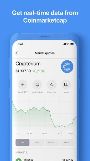 Crypterium | Bitcoin Wallet