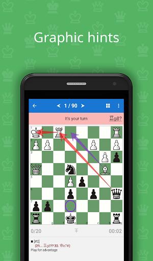 Mate Escape. Chess Puzzles