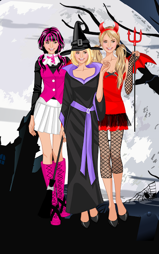♰ Halloween ♰ dress up game