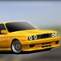 icon E30 Old Car Parking