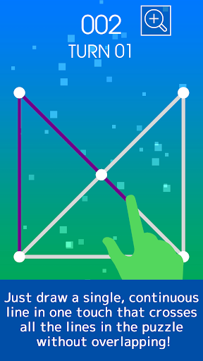 One Touch Drawing Puzzle smart