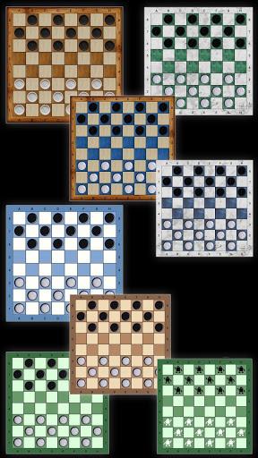 Russian checkers - Shashki