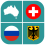 icon Geography Quizflags, maps and coats of arms