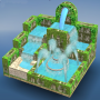 icon Flow Water Fountain 3D Puzzle